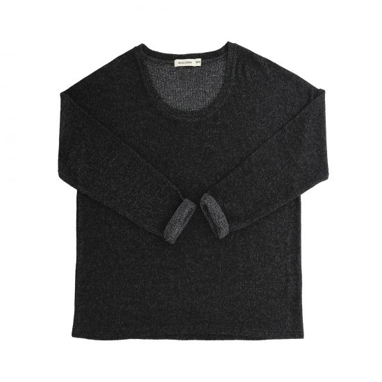 PULL MANCHES LONGUES EN MAILLE DOUCE