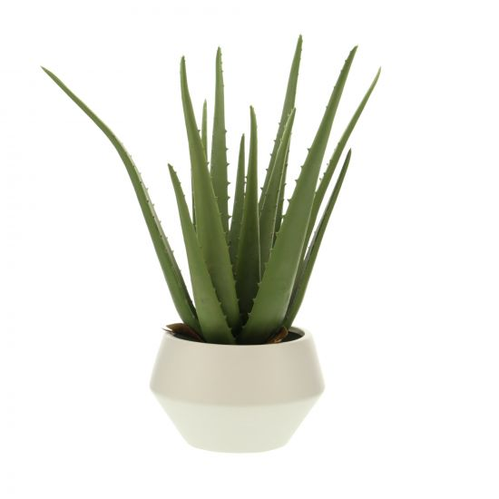 ALOE VERA ARTIFICIELLE DANS SON POT