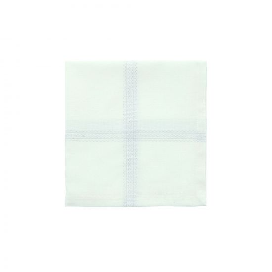 SERVIETTE DE TABLE EN COTON TISSAGE SCINTILLANT