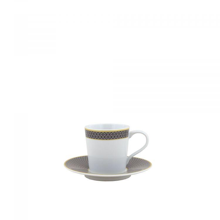 TASSE A CAFE ET SOUCOUPE