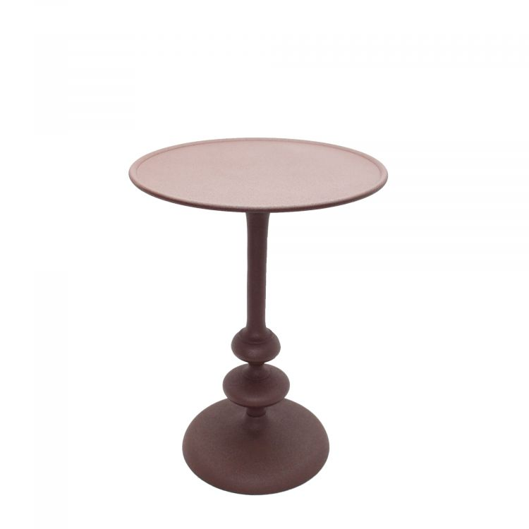 TABLE D'APPOINT RONDE STYLE CONTEMPORAIN