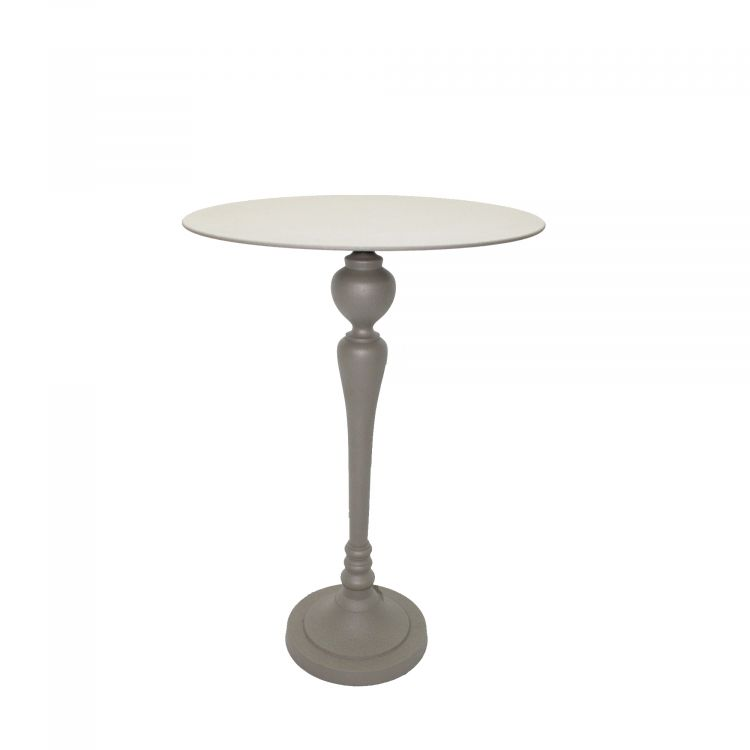 TABLE D'APPOINT RONDE STYLE CLASSIQUE