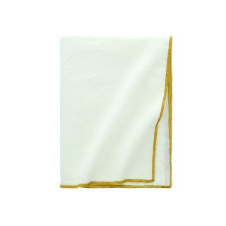 NAPPE EN COTON ET LIN FINITION BOURDON