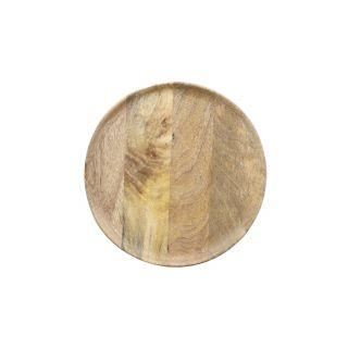 ASSIETTE PLATE EN MANGUIER
