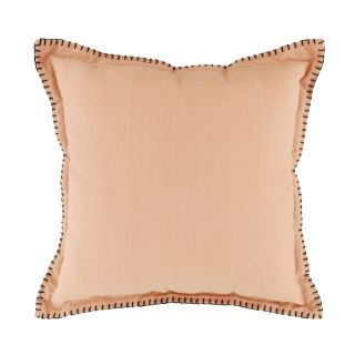 COUSSIN UNI EN COTON FINITION POINTS A CHEVAL