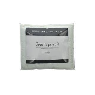 COUETTE CHAUDE EN PERCALE DE COTON - 350G
