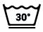 Lavage à 30°C, action réduite