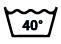 Lavage à 40 °