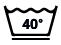 Lavage à 40°C, action réduite